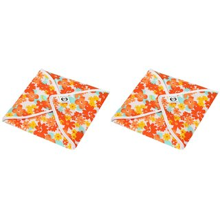 Amazeshopee Cotton Roti Cover/ Chapati Cover/ Roti Rumals Set of 2 Pcs (Assorted)