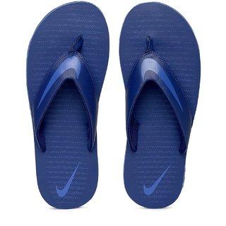 Nike Men Blue Solid Chroma Thong  833808-408 Flip-Flops
