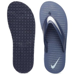 reputable site 986f6 6d88c Nike Men'S Chroma Thong 5 Loyal Blue, Chrome And Blue Grey Flip Flops