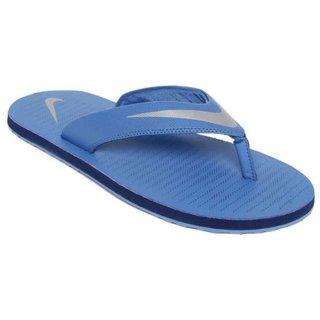 Nike Men'S Chroma Thong 5 Blue Slippers