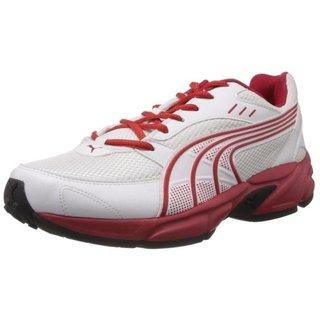 PUMA Men's White Sports Shoe
