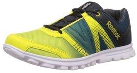 Reebok Men's Yellow Sports Shoe