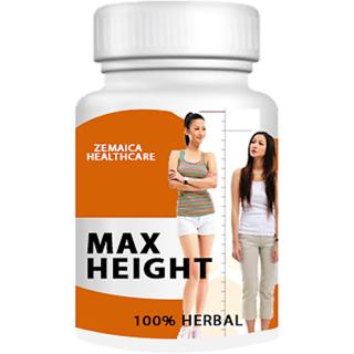 Max Height growth plus, Speed Height Ayurvedic Capsules(Ayurvedic)- Pack of 1