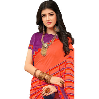 Laxmipati Multicolor Georgette  Printed Casual/Daily/Party Saree