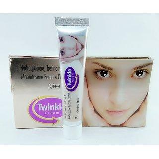 Twinkle Cream removes Pimple MarksBurn marksBlemishesDark Circles.