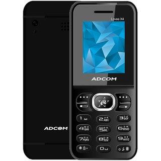 Adcom Lovee X4 (Dual SIM 1.8 inch Display 800 mAh Made in India