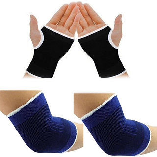 Mukta Enterprise Gold Dust Sport Stretch Band Palm Elbow Support