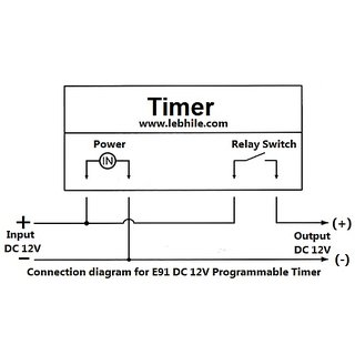 Omron Timer Switch Wiring Diagram on