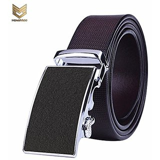 Akruti Hongmioo 2017 High Quality Business Fashion Automatic Buckle Mens Belt Genuine Luxury Leather Belt Brown Belts For Men