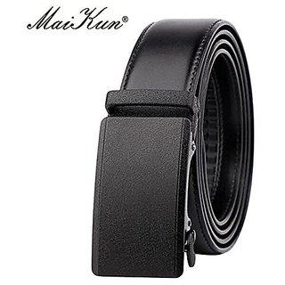 Akruti MaiKun Quality Leather Belt Automatic Ratchet Buckle Belts for Men Luxury Brand Wide Mens Belt Male Strap Ceinture Homme