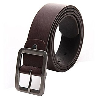 Akruti Men belt Faux leather pin buckle elastic boy waist line Casual Solid Strap Belt cowboy classic luxury adult waist belt 110 * 3.6cm