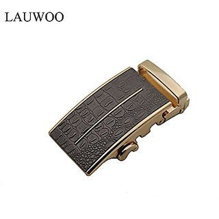 Akruti LAUWOO Good quality Alloy Automatic Belt Buckle Wholesale Factory Direct Mens Smooth Business Leather Belt buckles