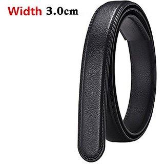 Akruti VOHIO luxury brand woman belt leather mens belt body with Article automatic black brown width 3.0cm riem womens belts No buckle