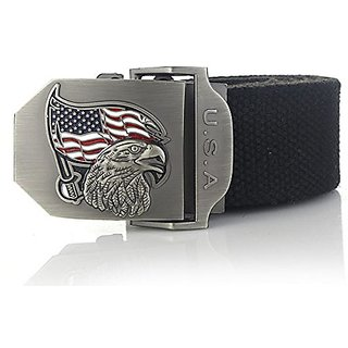 Akruti SupSindy mens canvas belt USA eagle buckle military belt Army tactical belts for Male top quality men strap Army Green 120cm