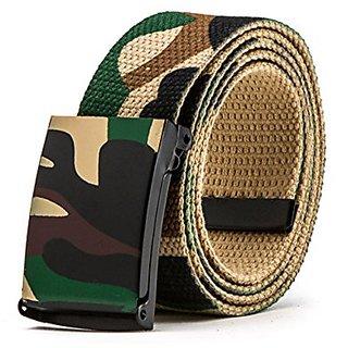 Akruti Best YBT Unisex Belt Fashion Soomth buckle Belts Army Tactical Waist Belt Jeans Male Casual Luxury Canvas cowboy Waistband