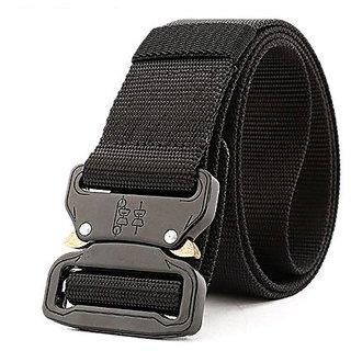 Akruti New 4.5cm Cobra Buckle Tactical Belt High Quality Nylon 120cm Casual Canvas Belt For Men And Women Military Training Belt H3E8