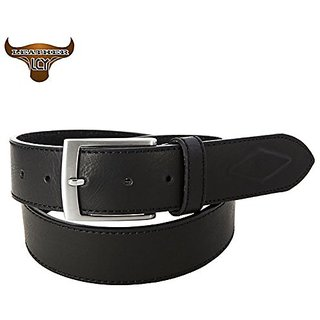 Akruti LCY cinturones hombre High Quality Leather Belt for Men Cowboy Designer Eco-Friendly Metal Pin Buckle Mens Belts Luxury 400134 (Synthetic leather/Rexine)