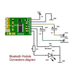 E38 BTM DC5V Wireless Stereo Bluetooth Music Audio Receiver Decoder Module  Board