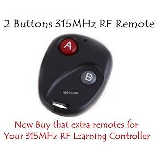 E97 RF Remote Control Transmitter for 315MHz Learning Switches and Controllers