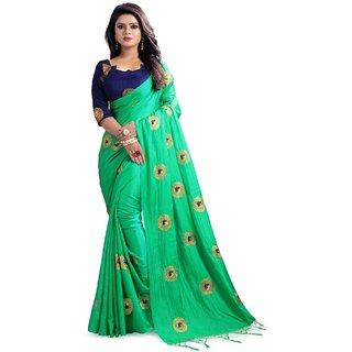 ffc1a8ed3992e Buy Mastani Green Paper Silk Saree (31mst101) Online - Get 85% Off