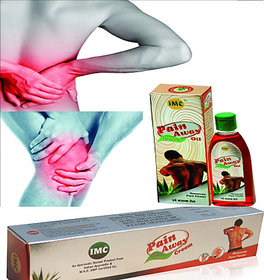 IMC PAIN AWAY OIL 100ML n PAIN AWAY CREAM. WHO Certified Chemical Free