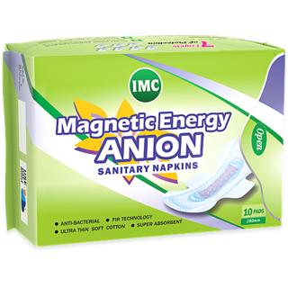 IMC MAGNETIC ENERGY ANION SANITARY NAPKINS (20 pics)