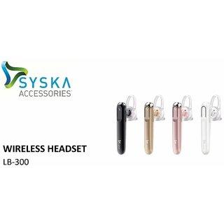 SYSKA LB300 BLUETOOTH HEADSET (PACK OF ONE)