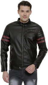 Leather Retail Faux Wolverine Leather Jacket For Man