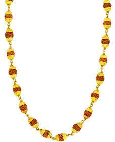 Memoir Dabangg2 Salman Inspired Rudraksh Beads Necklace for Men and Women