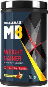 MuscleBlaze Weight Gainer (0.5 Kg, Kesar Pista Badam)