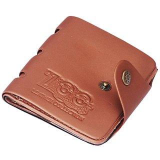 Stylish Brown 700 PVC Wallet