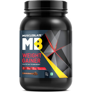 MuscleBlaze Weight Gainer, Chocolate 2.2 lb