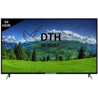 Nacson NS32HD4DTH 80 cm ( 32 ) HD Ready (HDR) LED Television With 1+2 Year Extended Warranty at Shopclues ₹ 14,490