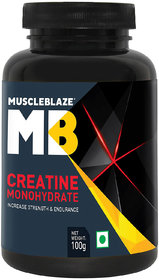 MuscleBlaze Creatine , 100 gm Unflavoured