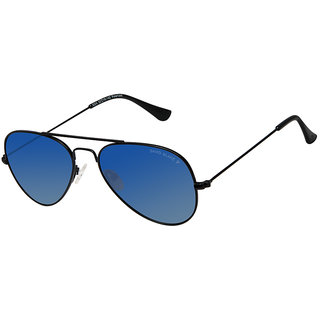 259fcb3065b Buy David Blake Blue Aviator Polarized UV Protection Mirrored Sunglass  Online - Get 56% Off