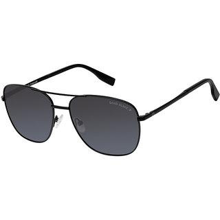 ed9c7f3f462 David Blake Grey Wayfarer Gradient Polarized UV Protection Sunglass