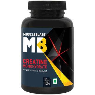 MuscleBlaze Creatine , 100 gm Unflavoured