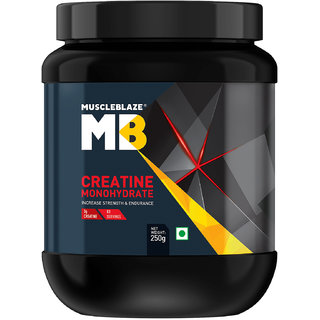 MuscleBlaze Creatine , 250 gm Unflavoured