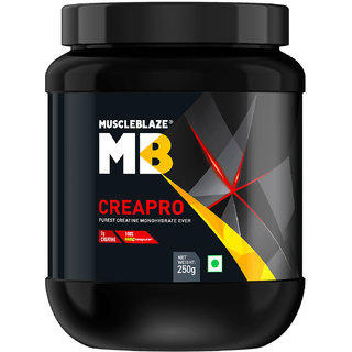 MuscleBlaze CreaPRO Creatine with Creapure 250g Unflavoured