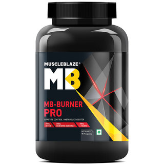 MuscleBlaze MB Burner PRO - 90 capsules (Unflavoured)
