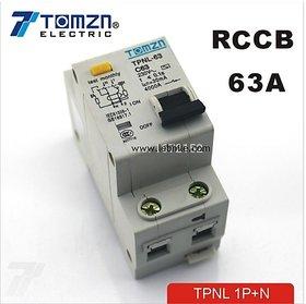E46B RCCB 63A 230VAC Residual Current Circuit Breaker Life Saver Shock Protecter