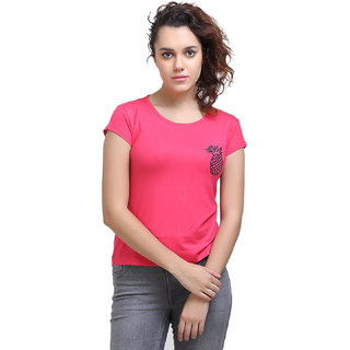 Origin Indie Women Pineapple Pink Top
