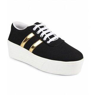 Women/Girls Black-1044 Casual Sneakers Shoes