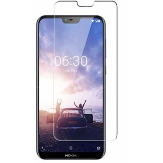 Nokia 6.1plus tempered glass 0.33mm 2.5D glass by Mascot Max