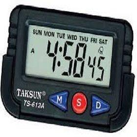 Digital Lcd Alarm Table Desk Car Calender Clock Timer Stopwatch