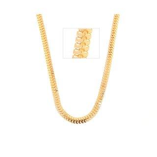 GoldNera 22K Yellow Gold Plated Brass Chain