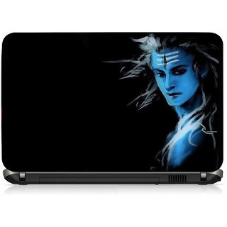 VI Collections SHIVA LOOKS PVC Laptop Decal 15.6