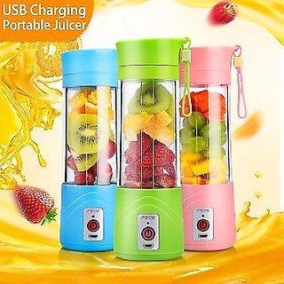 Portable Electric Fruit Juicer Maker Blender USB Rechargeable Mini Juice