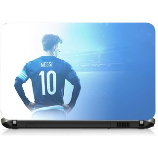 VI Collections MESSI BACK POSE pvc Laptop Decal 15.6