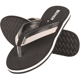 fc90b7938 Buy Drunken Men S Extra Soft Comfortable Black Rubber Flip Flop Online - Get  44% Off